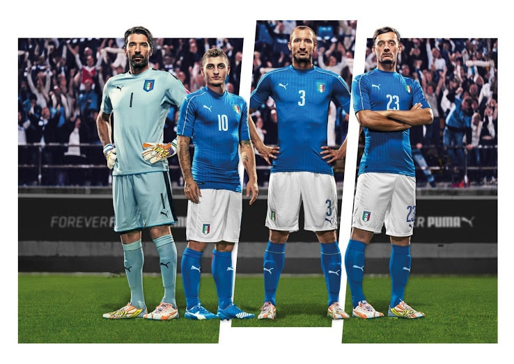 Maillot Italie Euro 2016