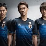 Les maillots 2016 du Japon par adidas