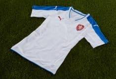 Image de l'article Puma dévoile les maillots de la République Tchèque pour l'Euro 2016