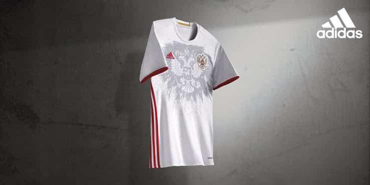 A quelques mois du début de la compétition, la Russie et son équipementier adidas viennent de présenter les nouvelles tenues pour l'Euro 2016.