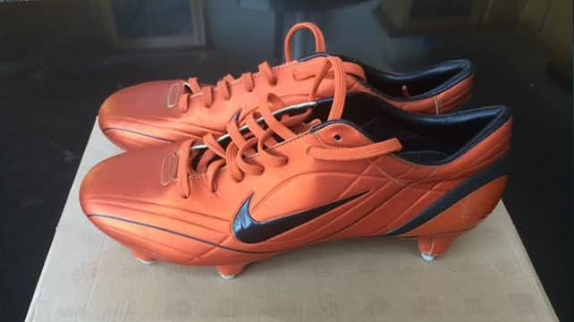 Nike Mercurial Vapor II R9 Orange - Benzema