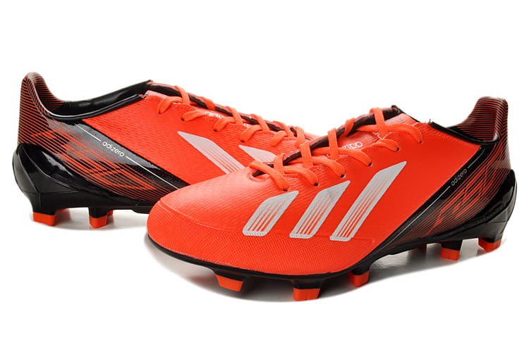 adidas f50 adiZero III miCoach Black_Infrared Red_Running White (2013) - Benzema