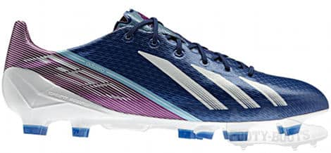 adidas f50 adiZero III miCoach Blue_White_Pink (2013) - Benzema