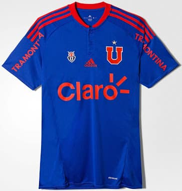 Maillot domicile Universidad de Chile 2016 - Under Armour