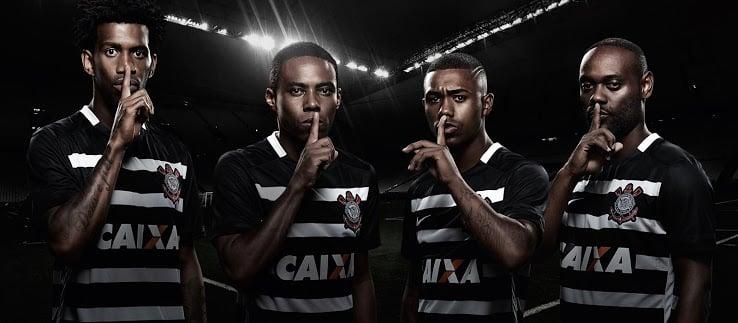Maillot extérieur Corinthians 2016 - Nike