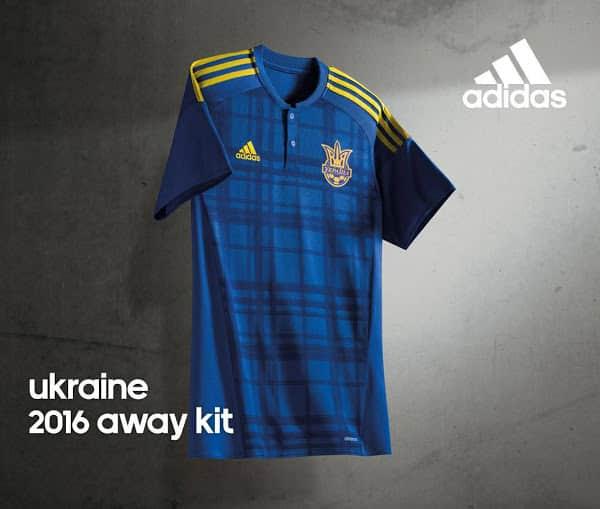 Maillot Ukraine Euro 2016