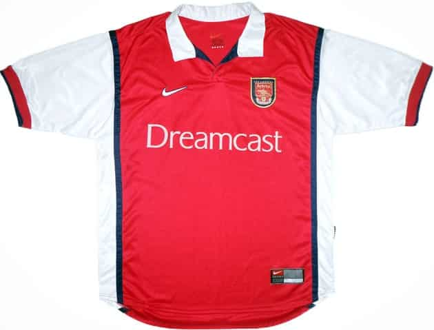 maillot-football-dreamcast-arsenal