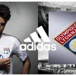 L'Olympique Lyonnais dévoile son maillot «Stade des Lumières» par adidas