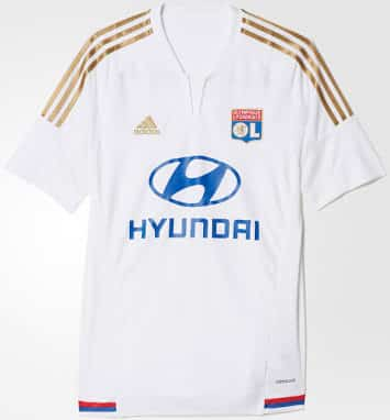 Maillot Olympique Lyonnais Tenue de match
