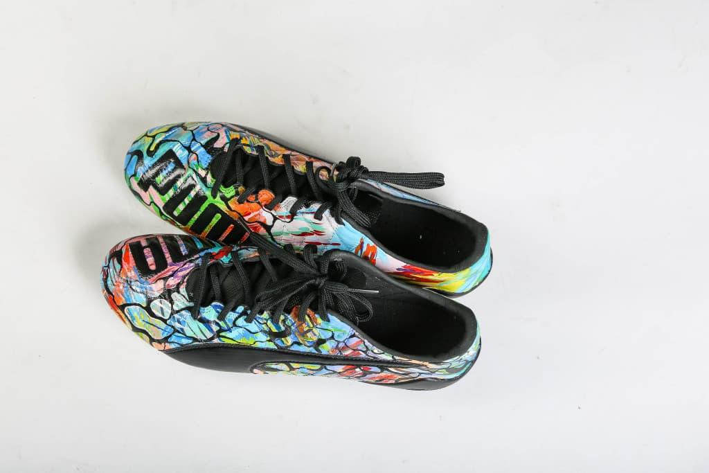 chaussure-football-puma-evoSPEED-SL-Hector-Bellerin-personnalisees-2