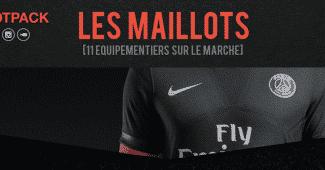 Image de l'article Infographie : les équipementiers de la Ligue 1 (Saison 2015/2016)