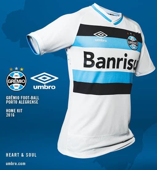 Maillot Grêmio Porto Alegre 2016