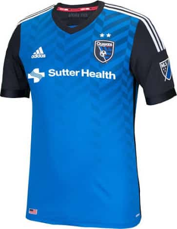 Maillot San Jose Earthquakes 2016