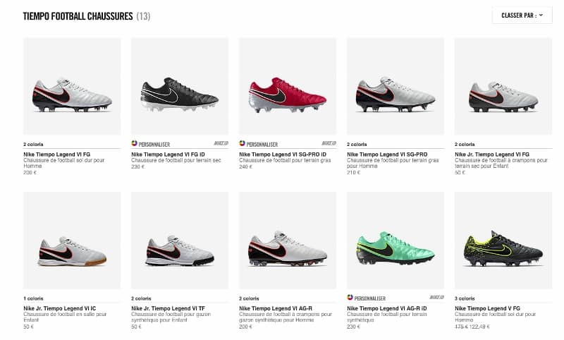 the latest a2865 43800 personnalisation-nike-tiempo-legend-6-iD-0