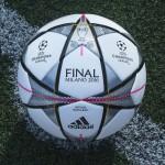 adidas dévoile le ballon de la finale 2016 de la Ligue des Champions