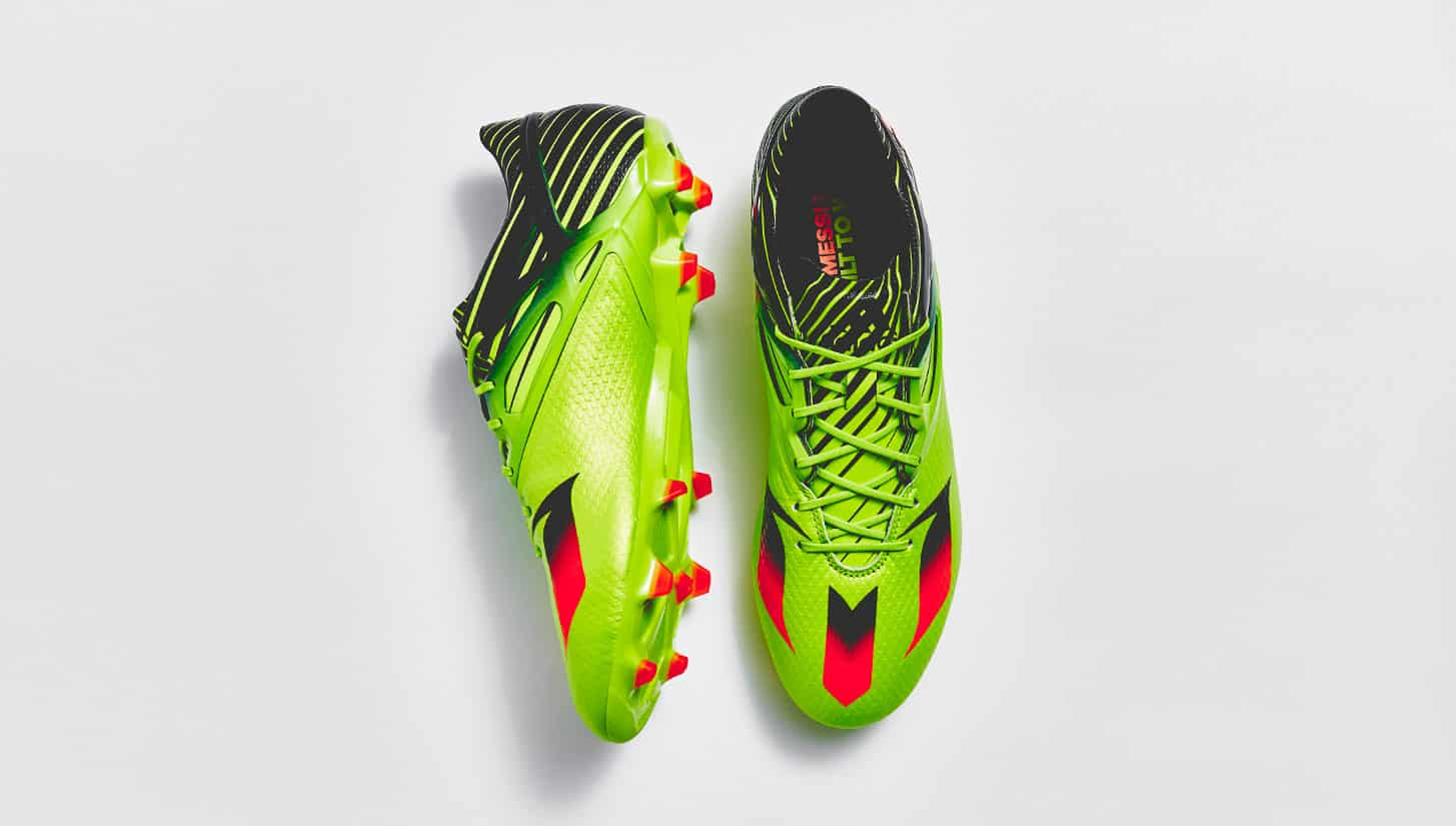big sale d2251 7fd2c ... chaussure-football-adidas-messi-vert-2016 ...