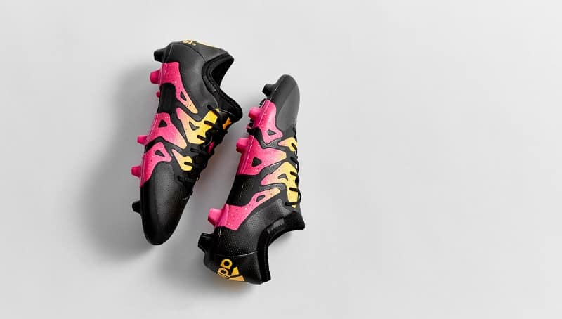 chaussure-football-adidas-x-black-pink-gold-4