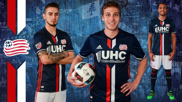 Maillot New England Revolution 2016
