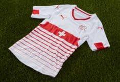 Image de l'article Puma présente les maillots de la Suisse pour l'Euro 2016