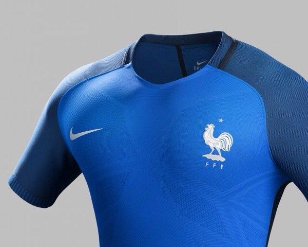 Détails Maillot Equipe de France 2016 Euro Domicile
