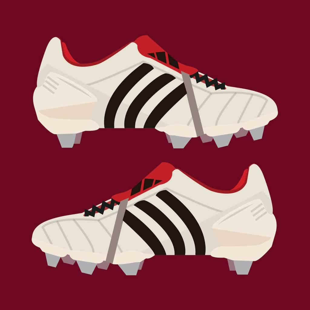 Illustration-Jordan-Budd-chaussure-football-adidas-predator-mania-blanc