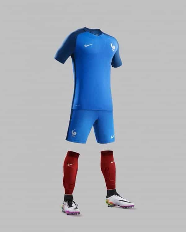 Maillot Equipe de France 2016 Euro Domicile