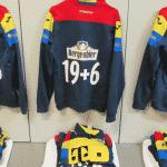 Les maillots d'entraînement originaux de la Roumanie