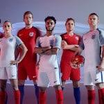 Les maillots de l'Angleterre pour l'Euro 2016 par Nike