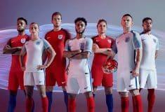 Image de l'article Les maillots de l'Angleterre pour l'Euro 2016 par Nike