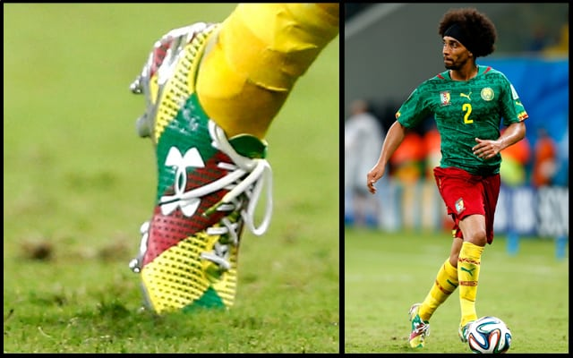 chaussure-football-Assou-ekotto-Under-Armour-Clutchfit-iD