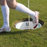 Focus sur les chaussures des joueurs de la Footgolf Cup 2016