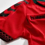 Un Hijab intégré sur le nouveau maillot Hummel de l'Afghanistan