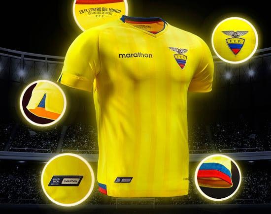 Maillot Equateur Copa América Centenario 2016