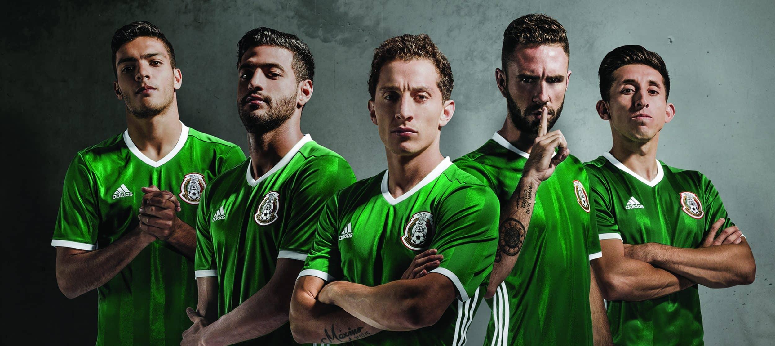 Maillot Mexique Copa America 2016