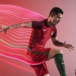 Les maillots du Portugal pour l'Euro 2016 par Nike