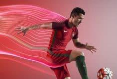 Image de l'article Les maillots du Portugal pour l'Euro 2016 par Nike