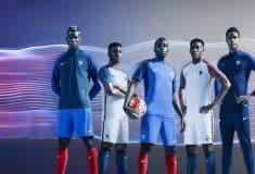 Image de l'article Nike dévoile les maillots de l'équipe de France pour l'Euro 2016