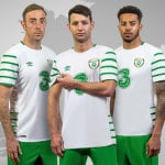 Umbro dévoile les maillots de l'Irlande pour l'Euro 2016