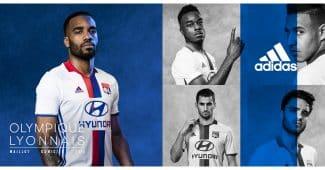 Image de l'article L'Olympique Lyonnais et adidas dévoilent les maillots 2016-2017