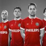 Le PSV Eindhoven et Umbro présentent un maillot hommage à Philips