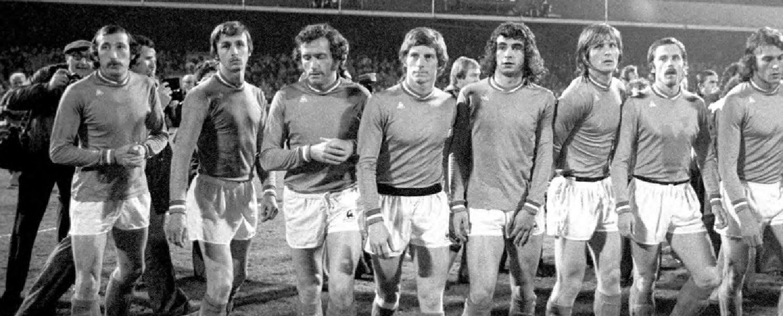 Equipe ASSE 1976 coq sportif 2