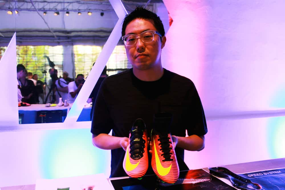 Jeongwoo Lee, designer de la Mercurial Superfly V