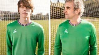 Image de l'article Le coq sportif ressort un maillot hommage à l'épopée 76 des verts