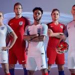 Les crampons des 23 Anglais pour l'Euro 2016