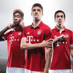 Le maillot domicile 2016-2017 du Bayern Munich par adidas
