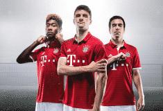 Image de l'article Le maillot domicile 2016-2017 du Bayern Munich par adidas
