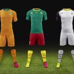 Les nouveaux maillots Puma du Cameroun, du Ghana et de la Côte d'Ivoire
