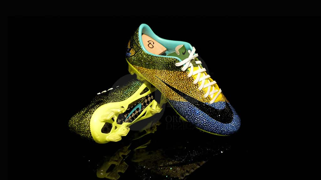 chaussures-football-Orravan-Design-Nike-Mercurial Panthere-Aubameyang