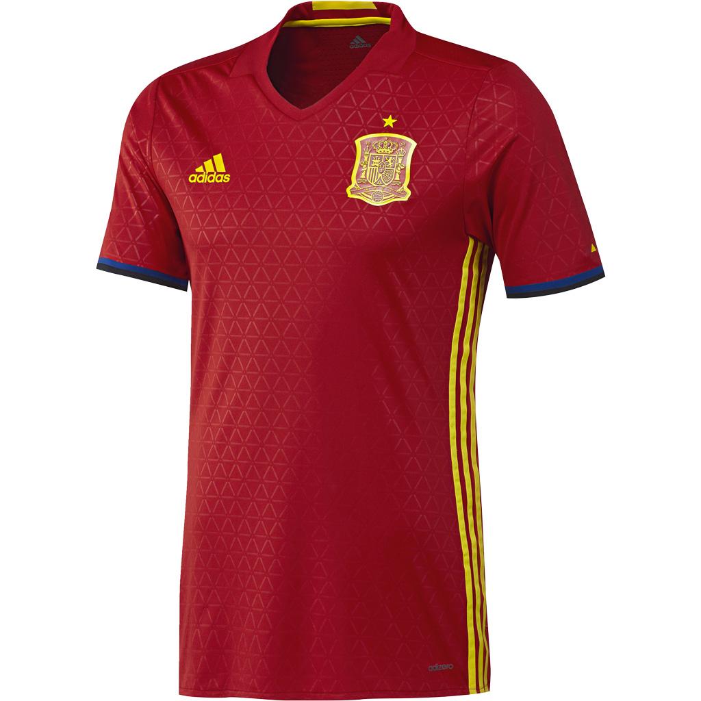 Maillot Authentique Domicile  Espagne Euro 2016