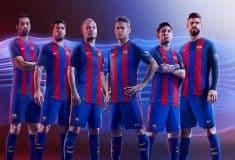 Image de l'article Nike dévoile le maillot 2016-2017 du FC Barcelone